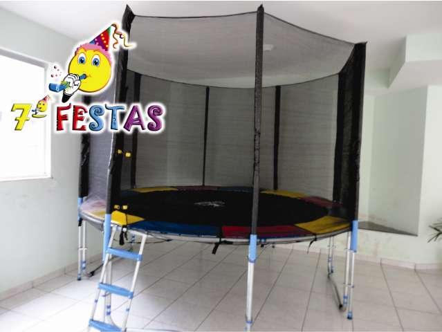 camas elásticas pequenas, médias e grandes  locação