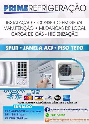 instalação de split a partir de R$ 280,00