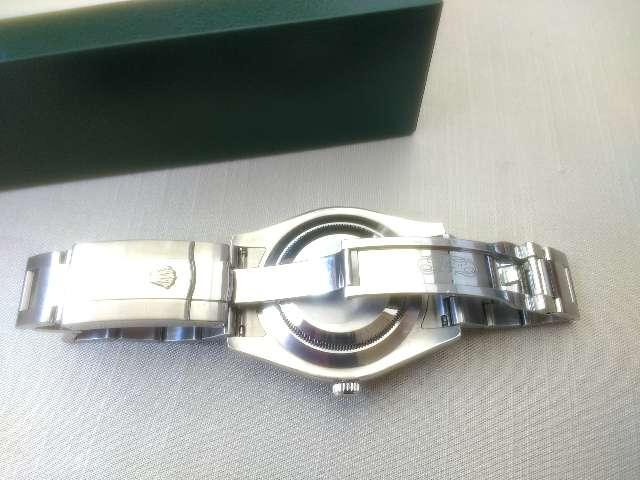Relógio marca Rolex modelo osyter aço 41 milímetros