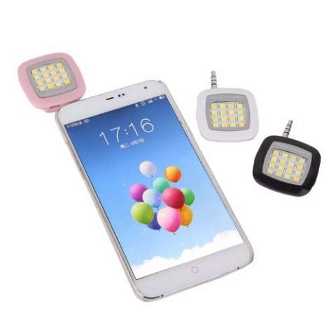 Flash Selfie Led Camera 16 Leds Smatphone e Tablet