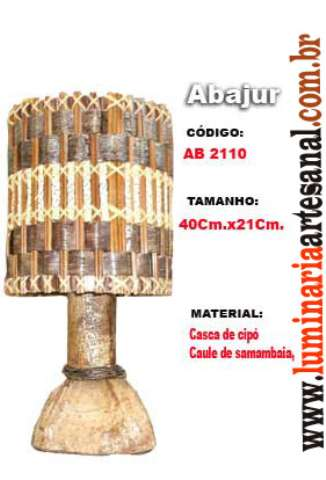 Luminárias Artesanais