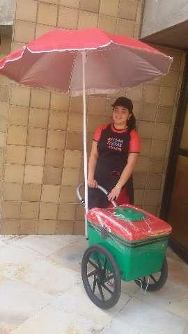 O carrinho de picolé está sendo considerado um dos melhores opção para festas e eventos.