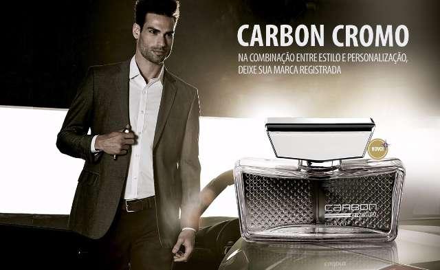 Colônia Carbon Cromo Eudora 100ml