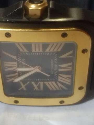 Relógio marca Cartier modelo 100 PVD automático