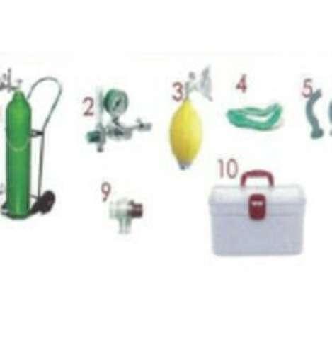 Kit de Primeiros Socorros para Piscinas