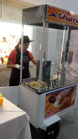 Aluguel de carrinhos de churros! Sétima Festas e Eventos.