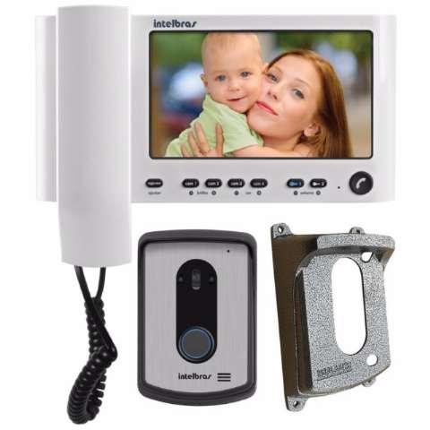 Vídeo Porteiro Intelbras IV 7010 HF + Protetor Externo