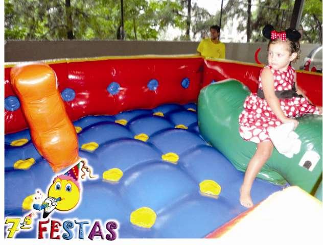 Promoção de cama elástica, algodão doce, pula pula inflável, piscina de bolinhas. ( Sétima Festas e