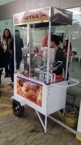 Aluguel de carrinhos de churros para empresas, eventos, festas