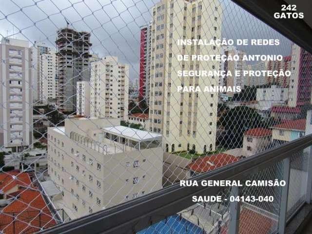 Redes de Proteção na Av. Francisco Morato, Vila Sonia, (11)   98391-0505