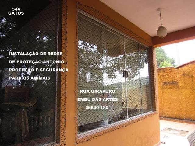 Redes de Proteção no Bosque da Saude, Rua Bertioga, (11)   98391-0505