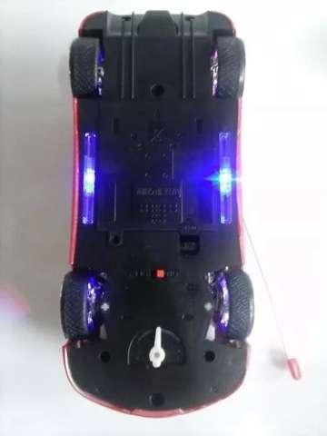 Ferrari Carro Carrinho Controle Remoto Leds Rodas Farol Neon Frete Grátis