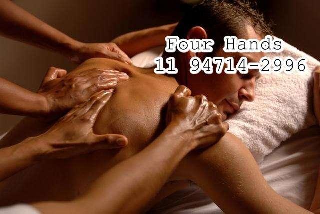 Massagem Four Hands Osasco