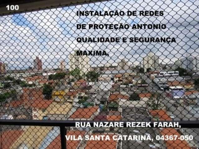Redes e Telas de Proteção na Saude,  Rua Samambaia, (11)   5524-7412