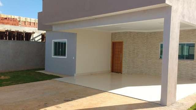 Casa 3 Suites Pé Direito Duplo Nova Moderna Sobradinho Condomínio Escriturado Alto da Boa Vista