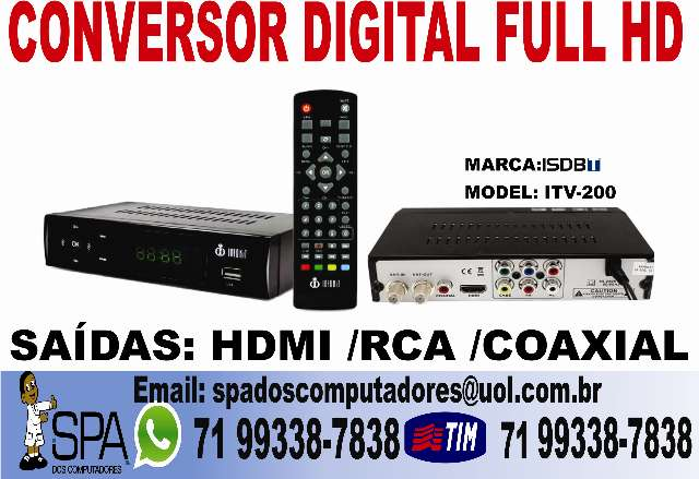 Conversor Digital Hd Inforkit ITV-200