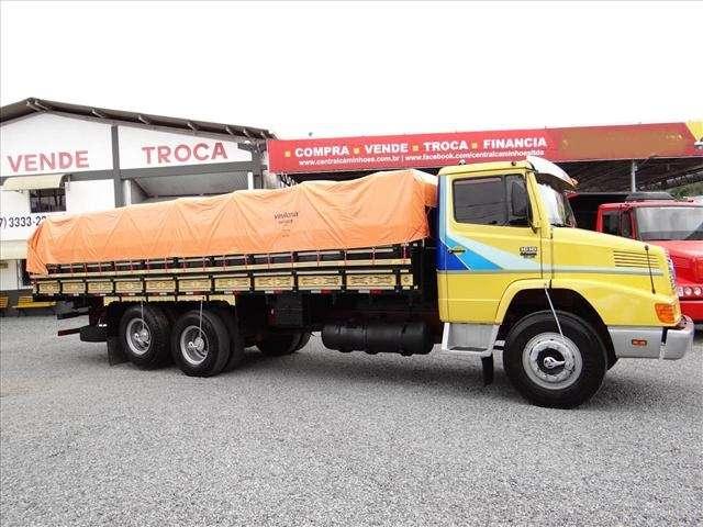 caminhão mb 1618 ano 1991 truck turbo