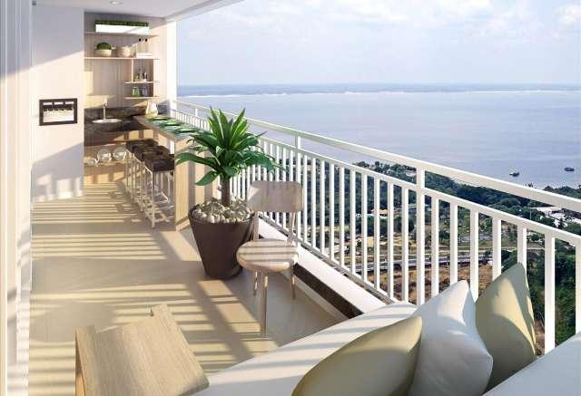 Apartamento Parque Ponta Negra Reserva das Águas 4 dormitórios/suíte/139m2/integrado ao Shopping Pon